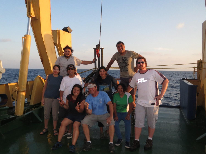 Justo Sierra Coring Crew