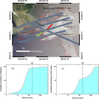 Oil Slick Morphology Derived From AVIRIS Measurements Of The Deepwater Horizon Oil Spill: Implications For Spatial Resolution Requirements Of Remote Sensors