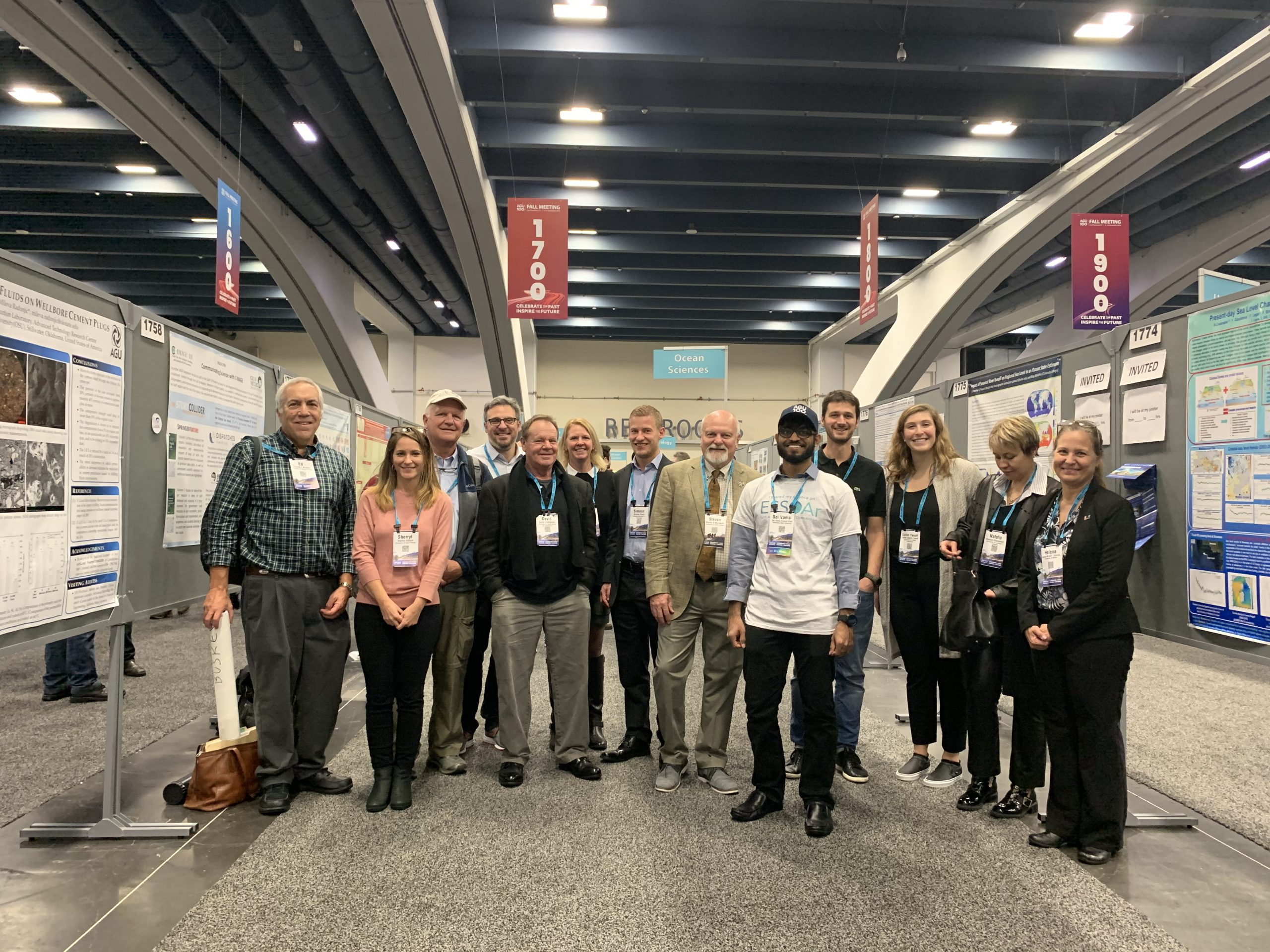C-IMAGE Hosts Special Poster Session At 2019 AGU Fall Meeting