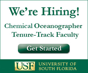 Chemical Oceanographer - Tenure-Track Faculty Position