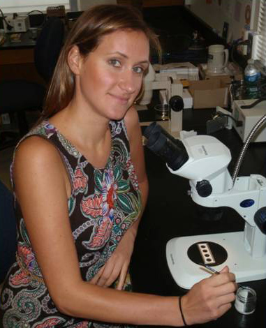 Adrienne George Receives NSF EAPSI Fellowship