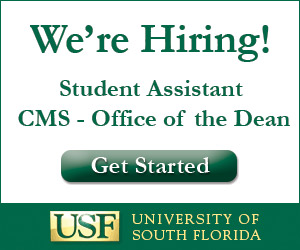 Student Assistant - USF College of Marine Science - Office of the Dean
