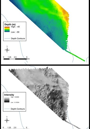 May 2016, Multibeam – South-West of the Florida Middle Grounds