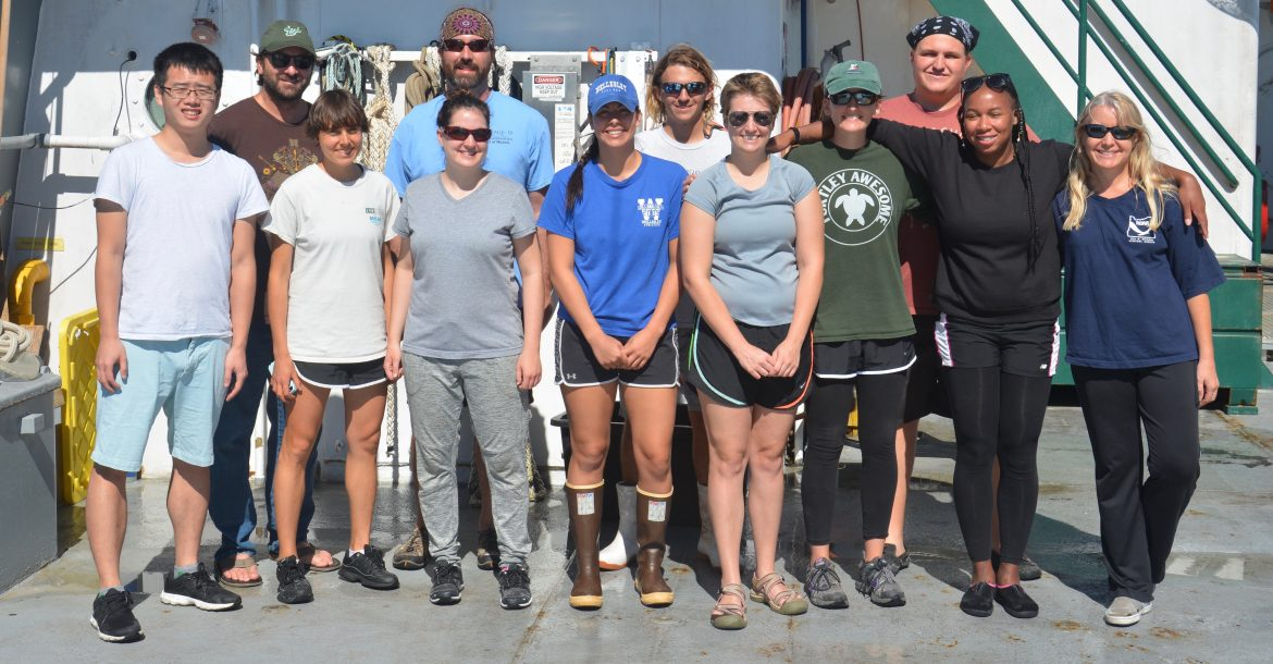 USF College of Marine Science Students