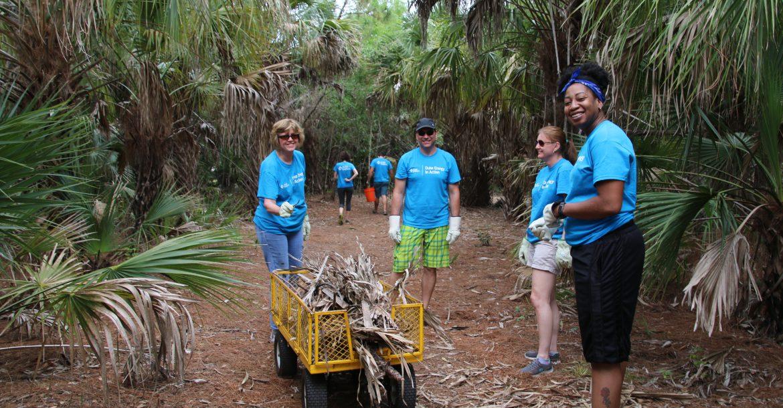 Clam Bayou Cleanup 2018