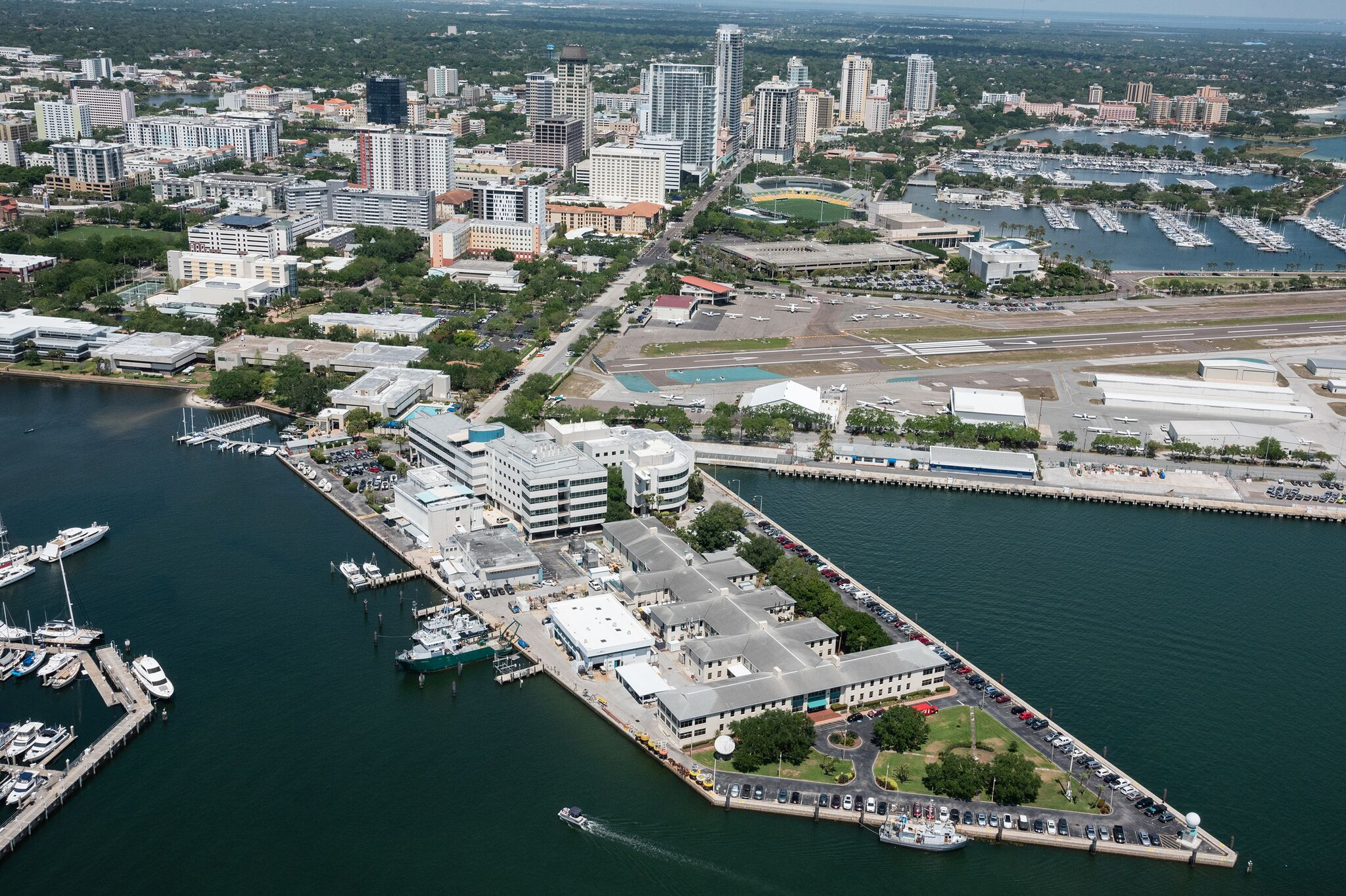 A bird's-eye view of USF College of Marine Science