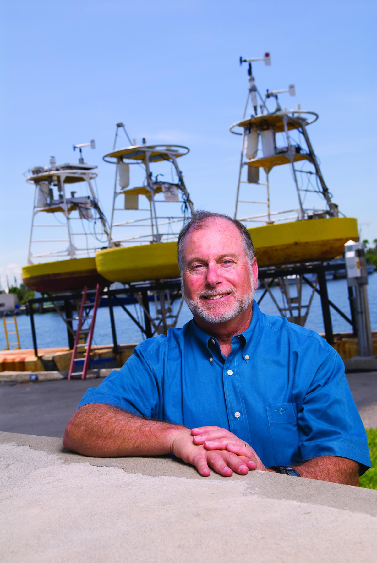 Dr. Robert Weisberg, Distinguished University Professor and Physical Oceanographer at USF College of Marine Science