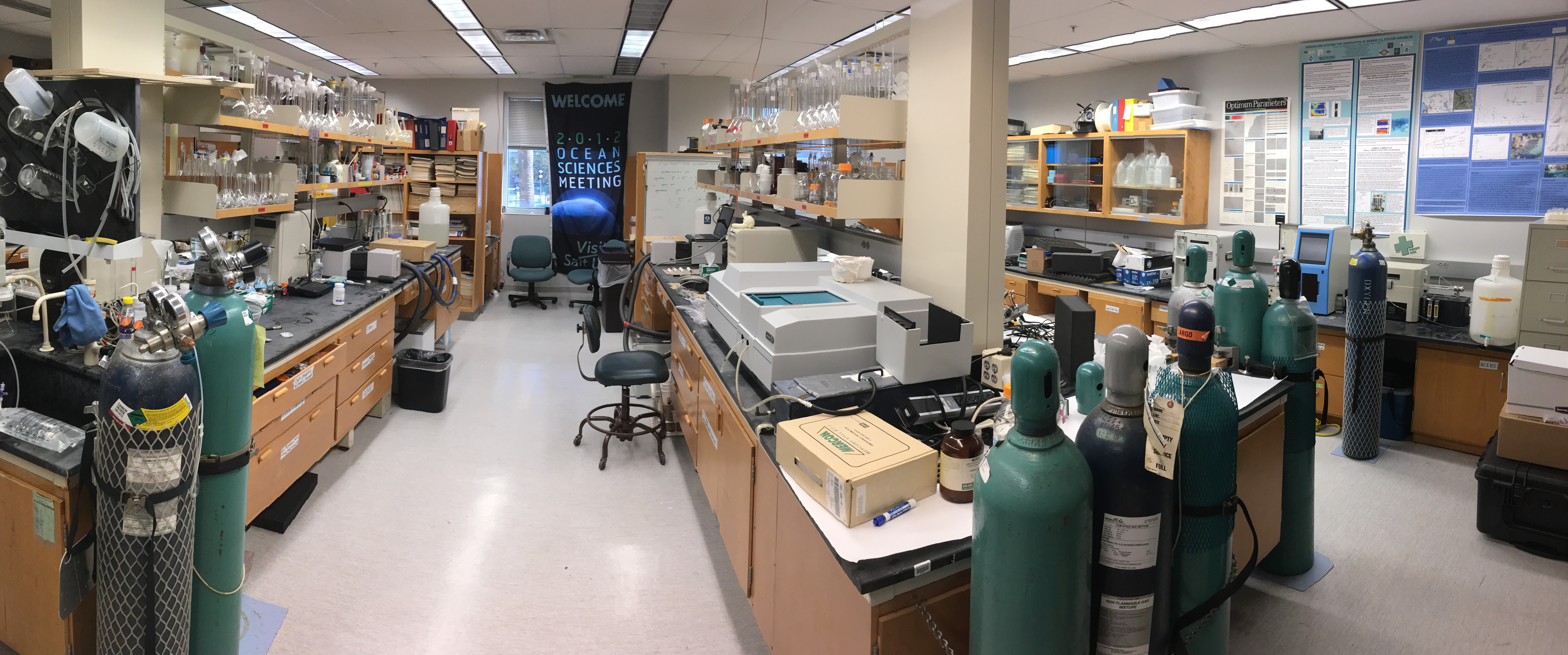 CO2 Chemistry Lab - USF College of Marine Science