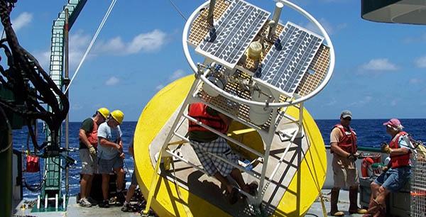 Ocean Buoy Monitoring Deployment Buoy