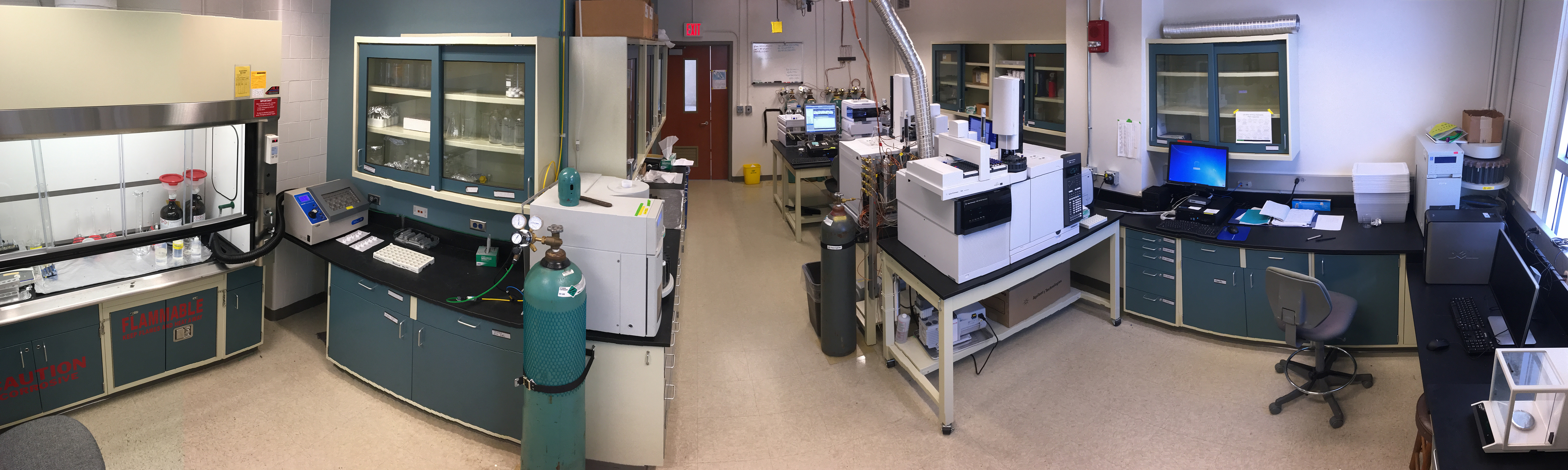 Gas Chromatography Mass Spectrometry Facility - USF College of Marine Science
