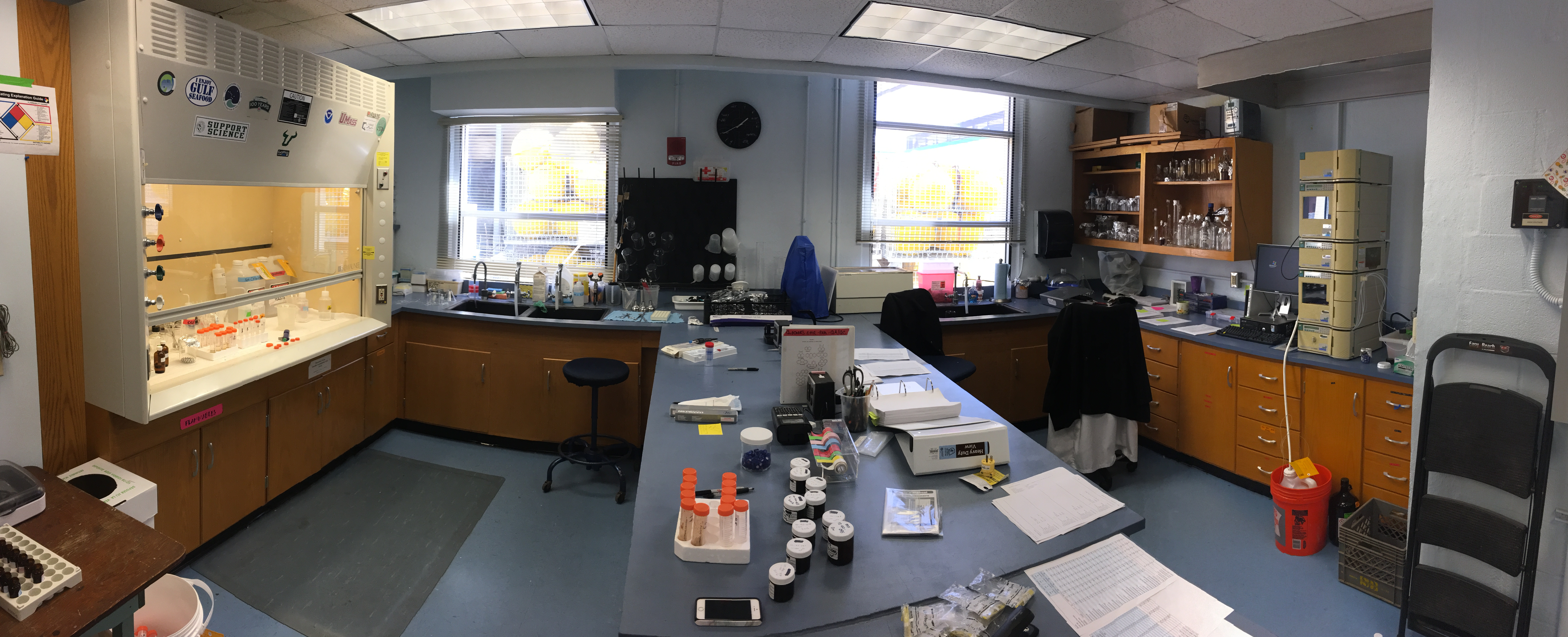 High Performance Liquid Chromatography Mass Spectrometry Facility - USF College of Marine Science