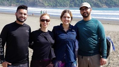 Interdisciplinary Research in Costa Rica USF Marine Science Graduate Students