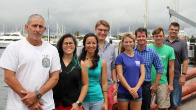 USF Marine Science Fish Ecology Lab Group, May 2018