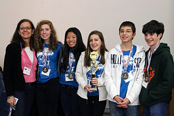 2015 Champion with Coach Anne West-Valle