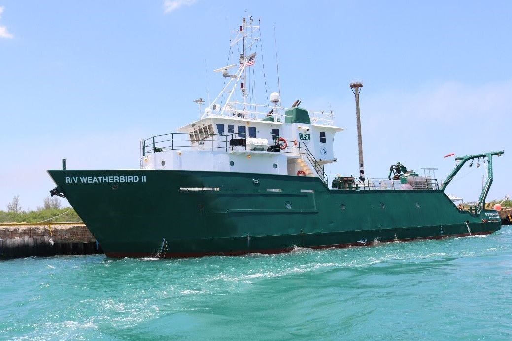 The Research Vessel (R/V) Weatherbird II