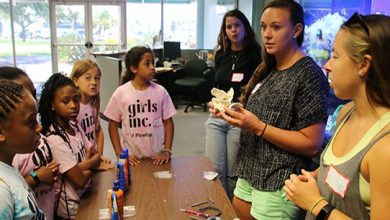 Photo of Girls Inc of Pinellas visits the College of Marine Science