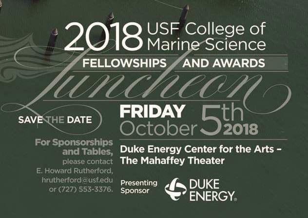 USF College of Marine Science Fellowships and Awards Luncheon
