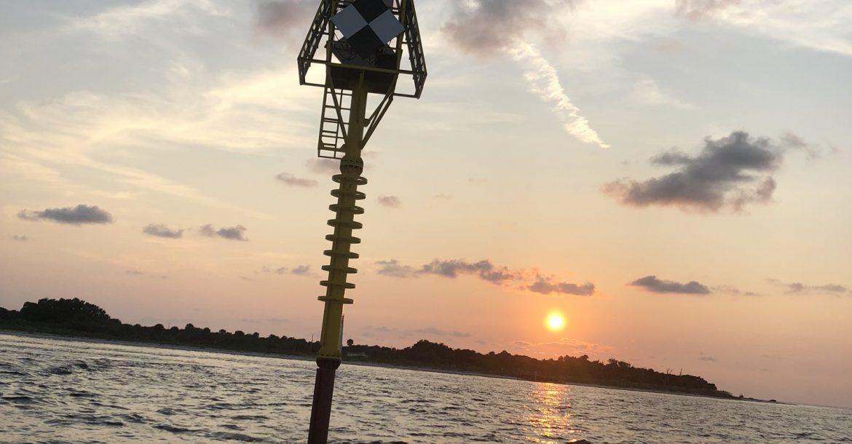 USF Led Team Deploys Tsunami Buoy Test in Tampa Bay
