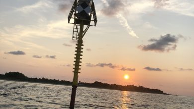 Photo of USF- Led Team Deploys Tsunami Buoy Test in Tampa Bay