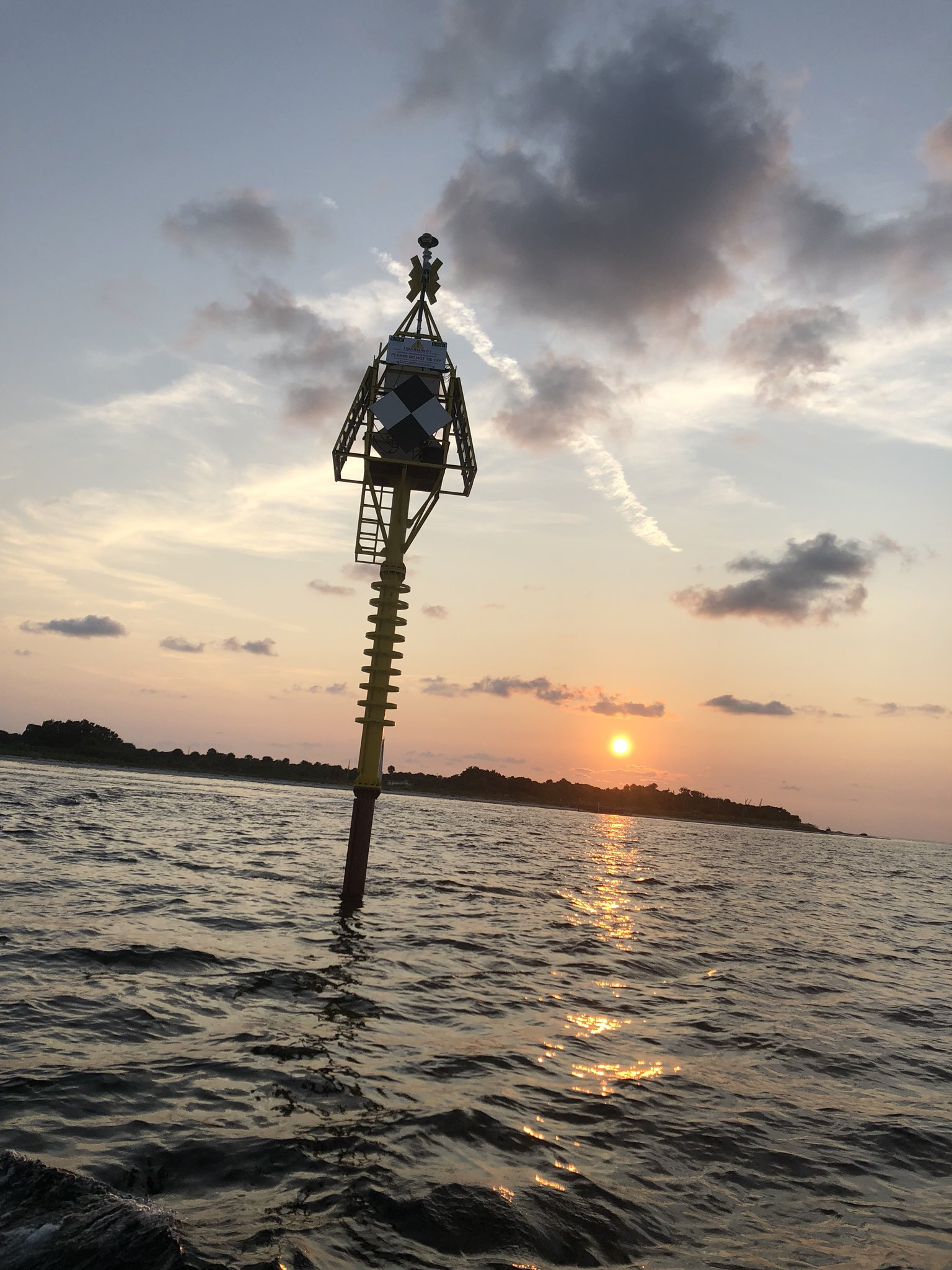 USF Led Team Deploys Tsunami Buoy Test in Tampa Bay