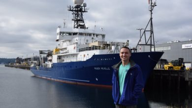 Photo of The U.S. GEOTRACES GP15 Expedition Along the Pacific Ocean Departs
