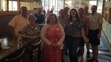 Photo of Tampa Bay Marine Science Networking Happy Hour Event – Oct. 2018