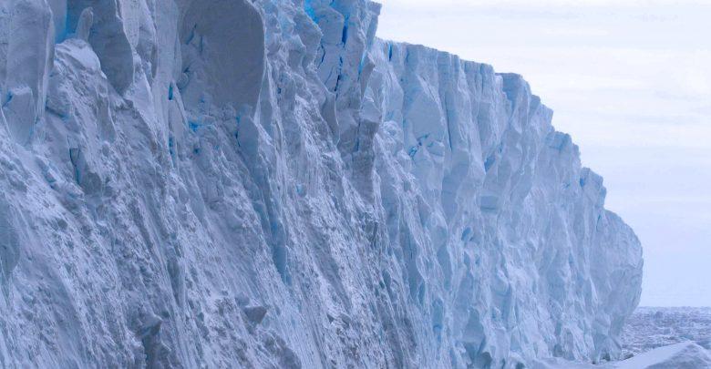 The Totten Glacier in East Antarctica