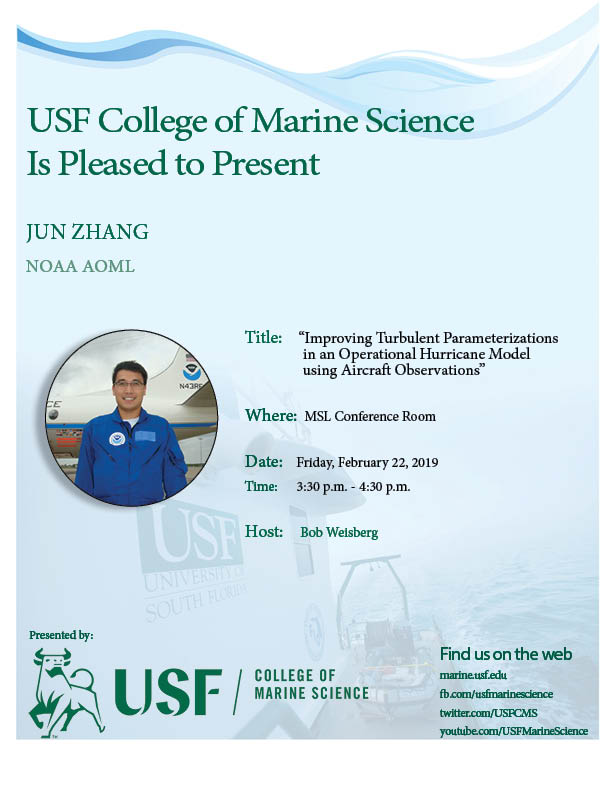 Jun Zhang NOAA AOML