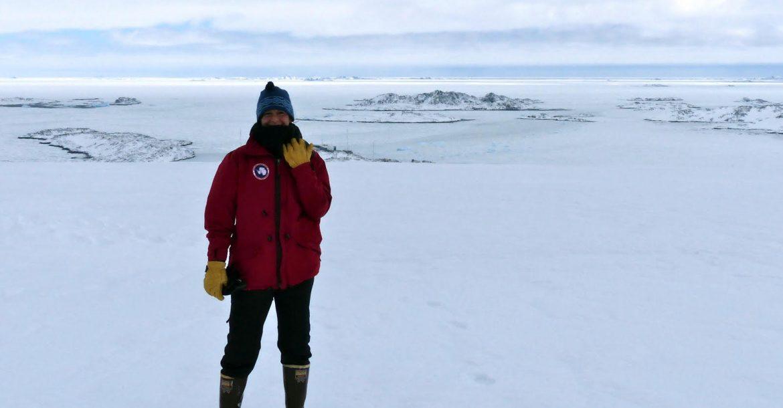 Michelle Guitard - Expedition Antarctica