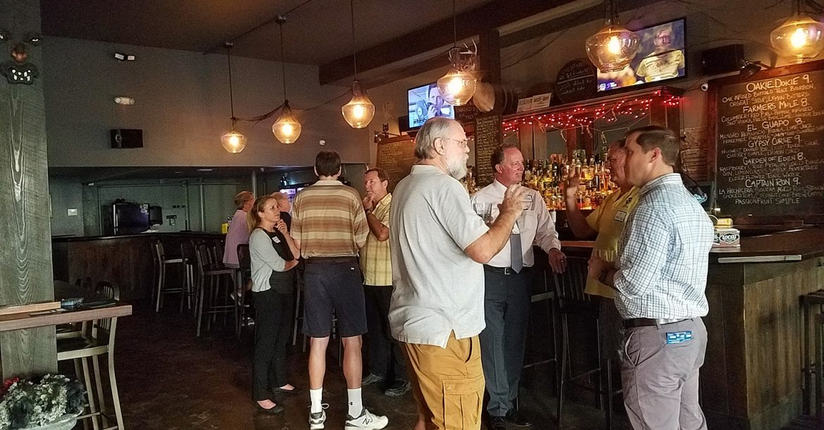 Tampa Bay Marine Science Networking Happy Hour Event - November 2018
