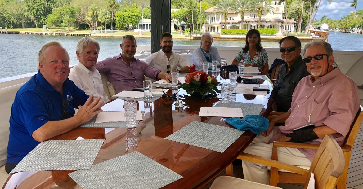 The Board of Directors met aboard the M/Y Usher on Nov. 1, 2018 in Ft. Lauderdale, Florida