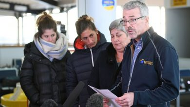 David Mearns worked with Emiliano Sala's family to launch a private search for the plane he went missing in. Photo Credit: Sky News