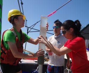 Gulf Of Mexico Sediment Core Schwing Romero