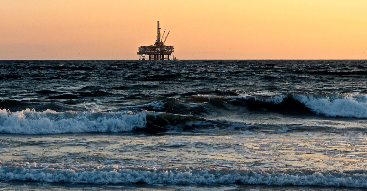 Oil Rig in the Gulf of Mexico. Photo Credit: C-IMAGE