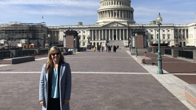 Dr. Shevenell represented TOS during Climate Science Day on Capitol Hill