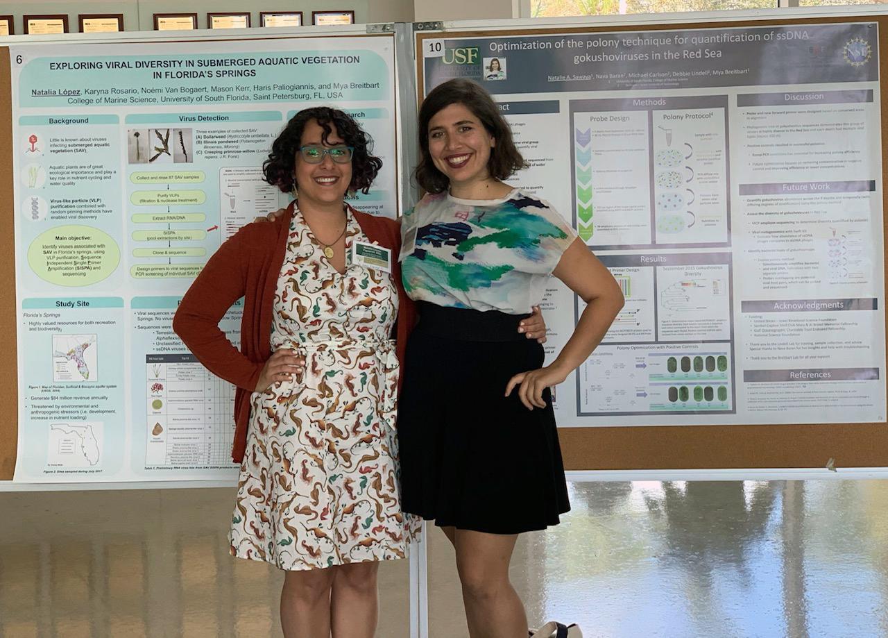 Natalia Lopez Figueroa and Natalie Sawaya