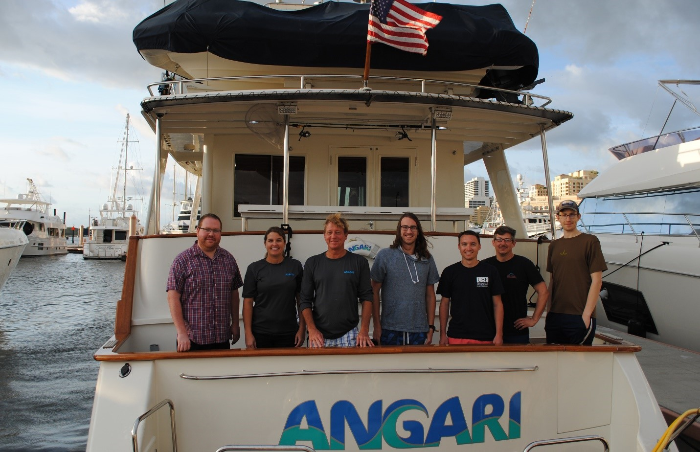 Angela Summers gulf stream trace metals cruise, day 2 – return from the