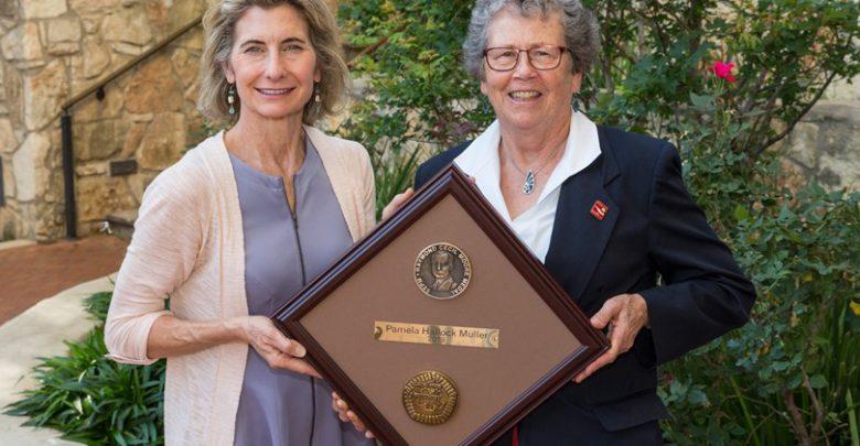 Photo of Pamela Hallock Muller Awarded the Prestigious Raymond C. Moore Medal