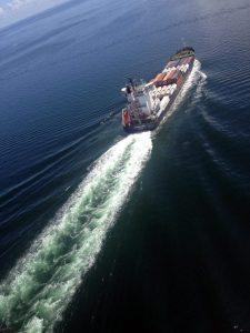 Ship Wakes – Tampa Bay