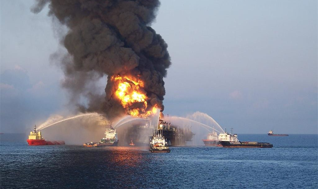 The Deepwater Horizon oil spill is an industrial disaster that began on April 20, 2010.