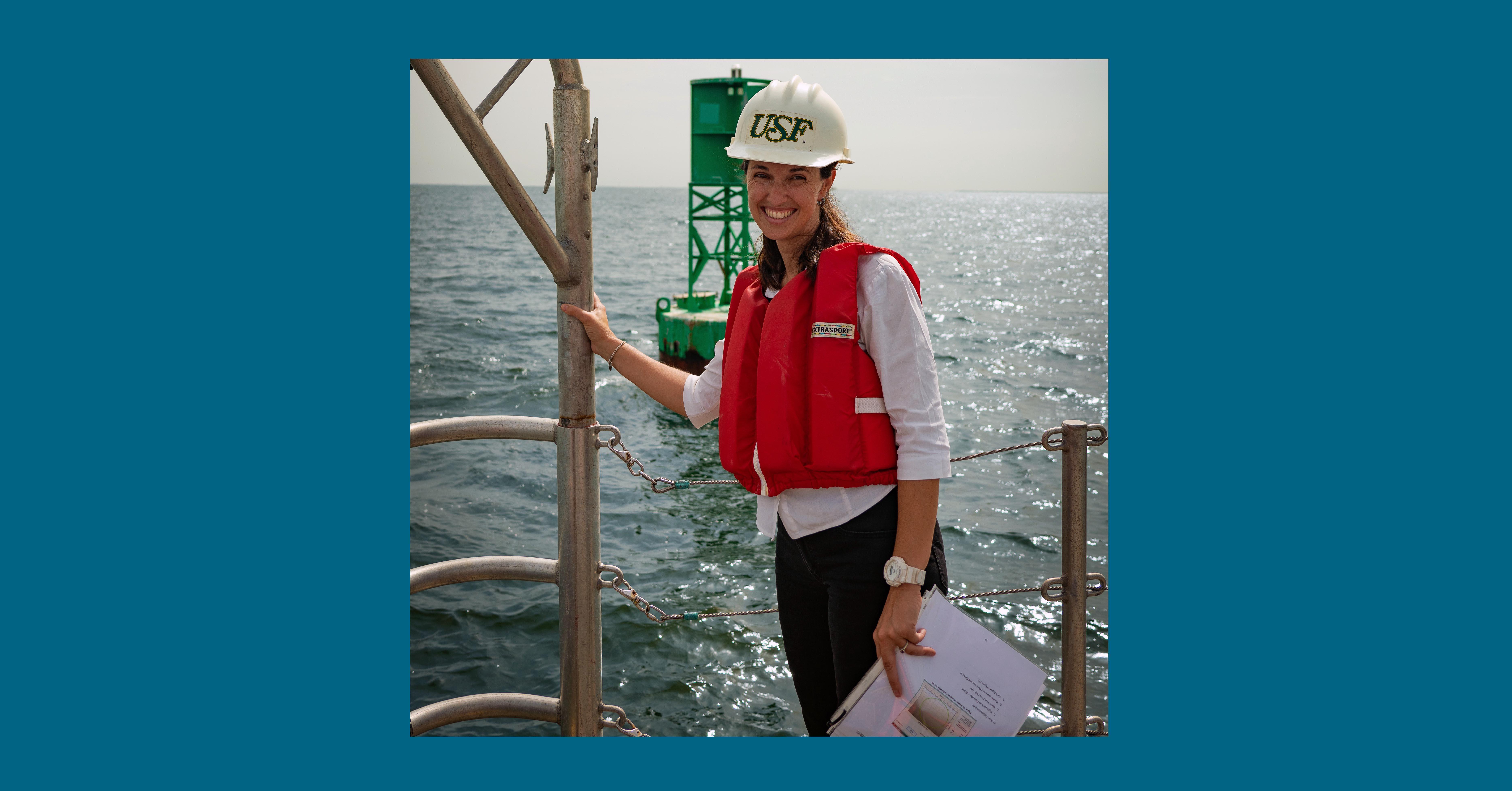 Laura Azevedo - USF CMS graduate student