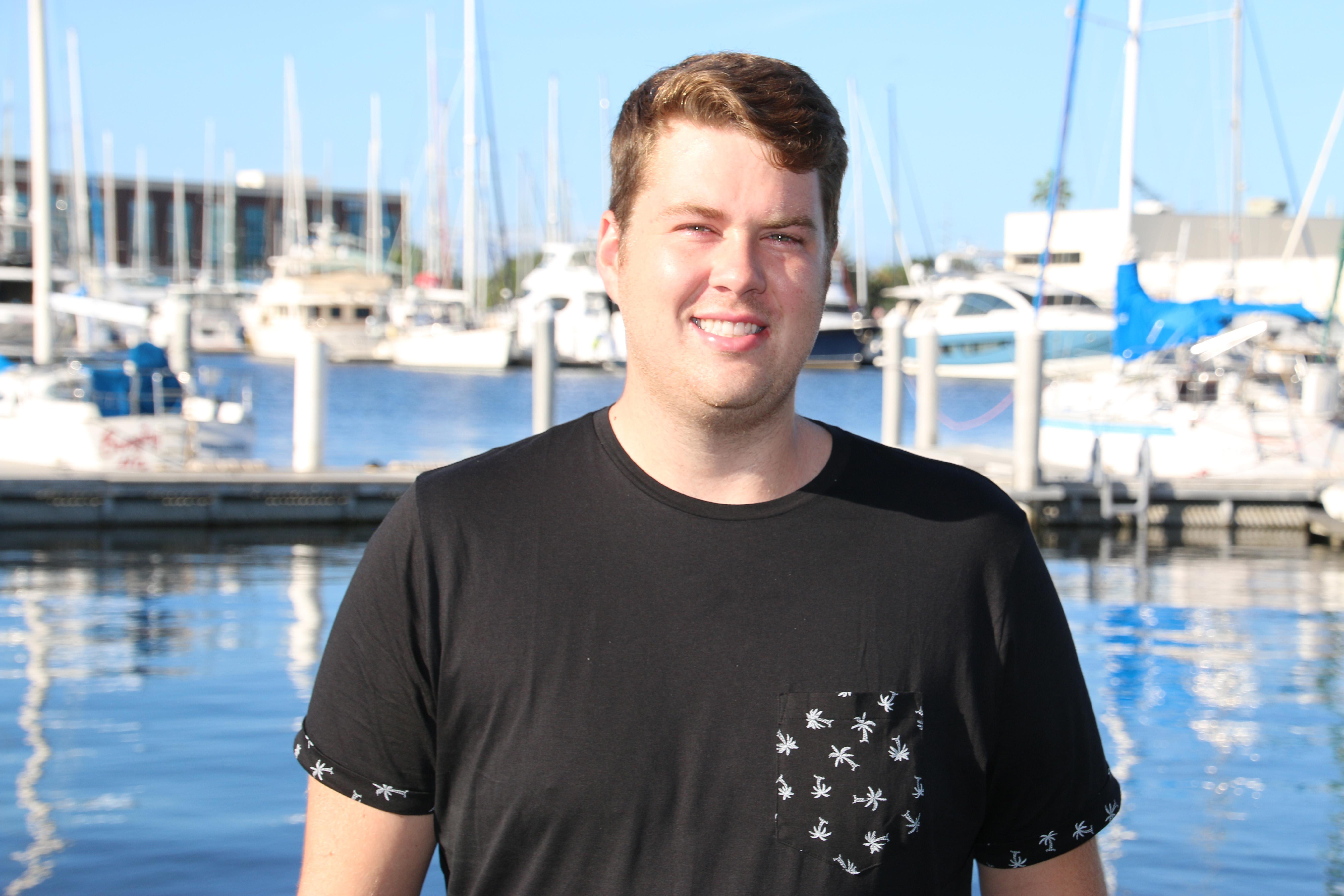Alexander Manos, USF CMS graduate student