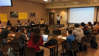 Photo of CMS Faculty Teach USF Honors Undergraduates About Estuaries in the Class and at Sea