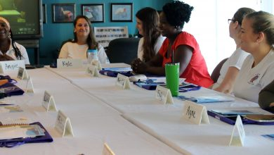 Photo of Global US Department of State's Women in STEM Program Visits Oceanography Camp for Girls (OCG)