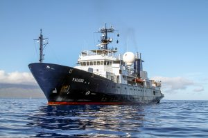 The Schmidt Ocean Institute's R/V Falkor.